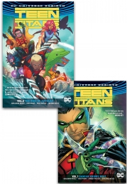 Teen Titans DC Universe Rebirth Collection 2 Books Set by Benjamin Percy