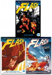 DC Universe Rebirth Flash Collection 3 Books Set - Lightning Strikes Twice, Speed of Darkness, Rogues Reloaded by Josh Williamson