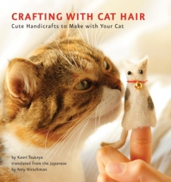 Crafting with Cat Hair Photo