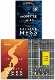 Patrick Ness Collection 3 Books Set (A Monster Calls, Release, More Than This) Photo
