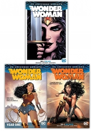 Wonder Woman Rebirth Collection 3 Books Set  (The Lies, Year One, The Truth) Photo