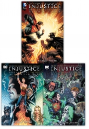 Injustice Gods Among Us The Complete Collection 3 Books Set (Year One, Year Two, Year Three) (Vol 1-3) Photo