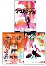 Spider-Gwen Collection 3 Books Set (Most Wanted, Greater Power, Weapon Of Choice) Photo