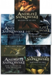 Andrzej Sapkowski Witcher Series Collection 7 Books Set Photo