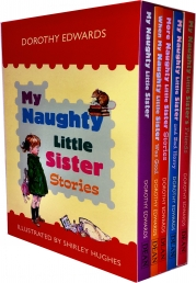 My Naughty Little Sister Collection 5 Books Box Set By Dorothy Edwards Photo