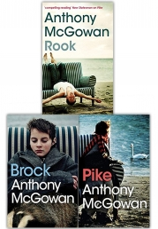 Anthony McGowan 3 Book Collection Set (Brock, Pike, Rook) Photo