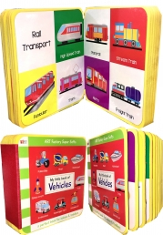 My Little Book Of Vehicles (Air Transport, Road Transport, Rail Transport, Water Transport, Truck, Car, Aircraft) Photo