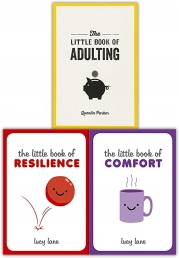 Lucy Lane The Little Book Collection 3 Books Set - Resilience, Comfort, Adulting Photo