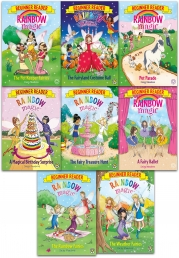 Rainbow Magic Beginner Reader Collection 8 Books Set By Daisy Meadows (Early Reader) by Daisy Meadows