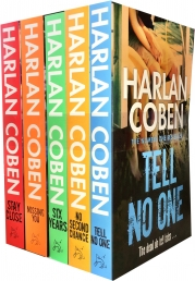 Harlan Coben Collection 5 Books Set (Stay Close, Missing You, Six Years, No Second Chance, Tell No One) by Harlan Coben