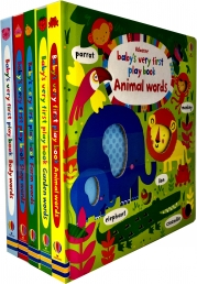 Babys Very First Play Words Books Collection 5 Books Set Photo