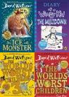 The Ice Monster, Diary of a Wimpy Kid: The Meltdown (book 13) (Diary of a Wimpy Kid, The Worldâ??s Worst Children 3: Fiendishly Funny New Short Stories, The Worldâ??s Worst Children, The Worldâ??s Worst Children 2, The Christmasaurus, The Truth Pixie, Head Kid, My Mum Tracy Beaker, Tom Gates 15: What Monster?, Good Night Stories For Rebel Girls 2, The Midnight Gang, Harry Potter, Childrens books, Kids Books, Books for 7 years old, Books for 8 Years old, Books for 9  years old