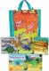 Dinosaur Adventures Collection 5 Books Set in a Bag Ankylosaurus Dora the Diplodocus Rex and Vicky the Velociraptor by Fran Bromage
