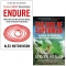 Endure By Alex Hutchinson & The Rise of Superman By Steven Kotler 2 Books Collection Set by Alex Hutchinson, Steven Kotler