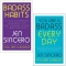 Badass Habits & You Are a Badass Every Day By Jen Sincero 2 Books Collection Set by Jen Sincero