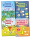 Usborne Phonics Activity Collection 4 Books Set With Stickers (Phonic Workbook) by Mairi Mackinnon (Author), Fred Blunt (Illustrator)