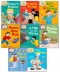 Read With Biff Chip Kipper Phonics & First Stories Collection 8 Books Set (L1-2) by Roderick Hunt and Alex Brychta