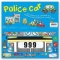 Miles Kelly Convertible Police Car 3 in 1 Book Playmat and Toy for Children by Amy Johnson