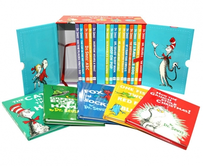 The Wonderful World of Dr. Seuss Series 20 Books Gift Box Set Collection by Dr. Seuss
