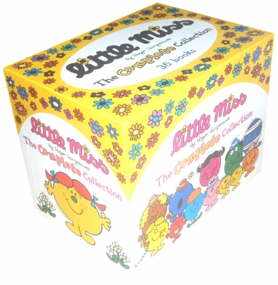Little Miss The Complete Collection 37 Books Box Set Pack By Roger Hargreaves 9780603570537 Buy Books