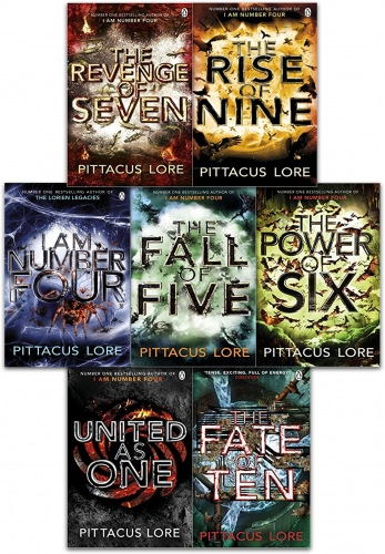 Pittacus Lore Collection Lorien Legacies Series 7 Books Set I Am