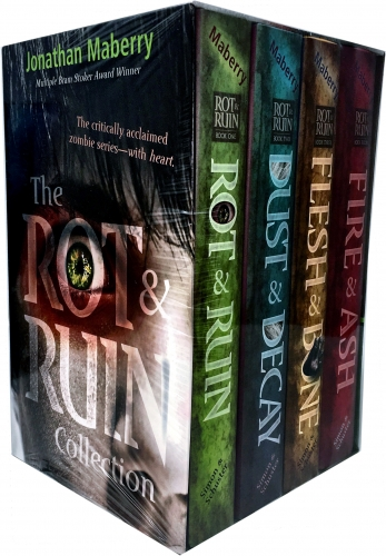 The Rot Ruin Collection Jonathan Maberry 4 Books Box Set Rot Ruin