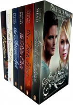Richelle Mead Bloodlines 6 Books Collection Set (Bloodlines, The Golden Lily, The Indigo Spell, The Fiery Heart,  Silver Shadows, The Ruby Circle) by Richelle Mead