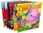 Caryl Hart Collection 6 Picture Books Set Alien School, Monster Race, Aliens in Underpants, Monstersaurus, Catch a Dragon, Grow a Dinosaur by Caryl Hart