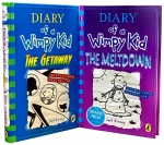 Latest Diary of a Wimpy Kid 2 Books Collection Set The Meltdown, The Getaway by Jeff Kinney by Jeff Kinney
