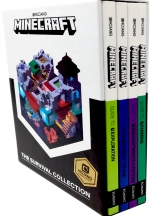 Minecraft The Survival Collection Books Set with Minecraft Annual 2019 by Mojang AB