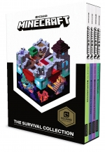 Minecraft Guide To Survival Collection 5 Books Set With Minecraft Blockopedia Box Set by Mojang