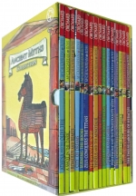 Ancient Myths Collection 16 Books Box Set Pack by Geraldine McCaughrean  (Author), Tony Ross (Illustrator)