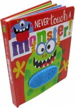 Never Touch Series Collection 4 Books Set (Touch and Feel) by Rosie Greening (Author) Stuart Lynch (Illustrator)
