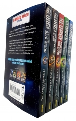 Lucy and Stephen Hawking George Series Collection Set of 5 Books Key to the Universe Cosmic Treasure Hunt Big Bang Unbreakable Blue Moon by Lucy and Stephen Hawking