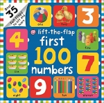 First 100 Lift-the Flap Collection 3 Board Books Set by Roger Priddy