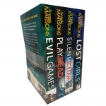 Detective Kim Stone Crime Thriller Series Angela Marsons Collection 4 Books Set (Lost Girls, Silent Scream, Play Dead, Evil Games) by Angela Marsons