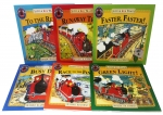 Little Red Train Benedict Blathwayt Collection 6 Books Set Faster Faster Green Light To The Rescue Busy Day The Runaway Train Little Red Train by Benedict Blathwayt