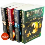 Jonathan Stroud The Bartimaeus Series 4 Books Collection Set (Bartimaeus Sequence Series - Children's Fantasy Novels, Age 10-14) by Jonathan Stroud