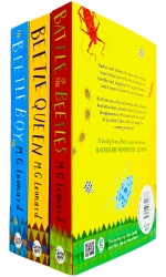 The Complete Beetle Trilogy 3 Books Collection by M. G. Leonard - Beatle Boy, Beetle Queen, Battle of the Beetles by M.G. Leonard