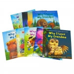 Why I Love Series 10 Books Collection Set by Daniel Howarth (Moon, Bedtime, Brother, School, Friends, Mummy, Grandma, Sister, Daddy, Grandpa) by Daniel Howarth