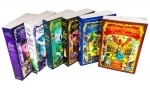 Land of Stories Chirs Colfer Collection 6 Books Set Wishing Spell, Grim Warning, Enchantress Returns, An Authors Oddyssey, Worlds Collide by Chirs Colfer