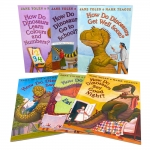 How Do Dinosaurs Collection 6 Books Collection Set Get Well Soon Say I Love You by Jane Yolen and Mark Teague