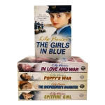 Lily Baxter Collection 5 Books Set (In Love and War, The Girls in Blue, Poppys War, Spitfire Girl, The Shopkeepers Daughter) by Lily Baxter