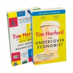 Tim Harford Collection 2 Books Set - Fifty Things That Made the Modern Economy, The Undercover Economist by Tim Harford