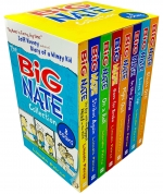 The Big Nate Collection Series 8 Books Box Set by Lincoln Peirce by Lincoln Peirce