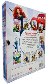 Pixar The Ultimate Collection 8 Books Box Set (Brave, Up, Cars, The Incredibles, Monsters INC, Nemo, Dory, Toy Story & MORE!) by DK