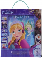 Disney Frozen Elsa, Anna, Olaf, and More! - Me Reader Electronic Reader and 8-Sound Book Library Great Alternative to Toys for Christmas by Disney