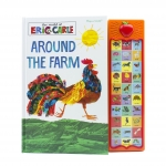 World of Eric Carle Around the Farm 30-Button Sound Book – Great Alternative to Toys for Christmas by Eric Carle