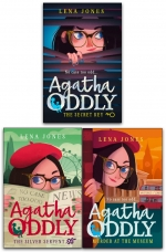 Agatha Oddly Series 3 Books Collection Set by Lena Jones (The Secret Key, Murder at the Museum & The Silver Serpent) by Lena Jones