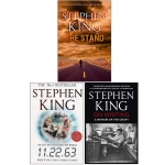 Stephen King Collection 3 Books Set - The Stand, 11.22.63, On Writing by Stephen King